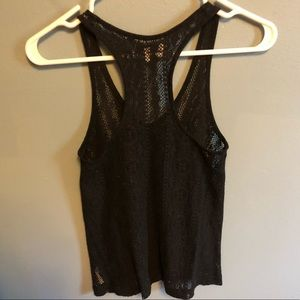 American Eagle Outfitters Tops - AE lace tank